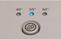Humidifier levels