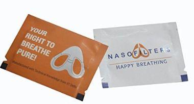 Nasofilters packaging
