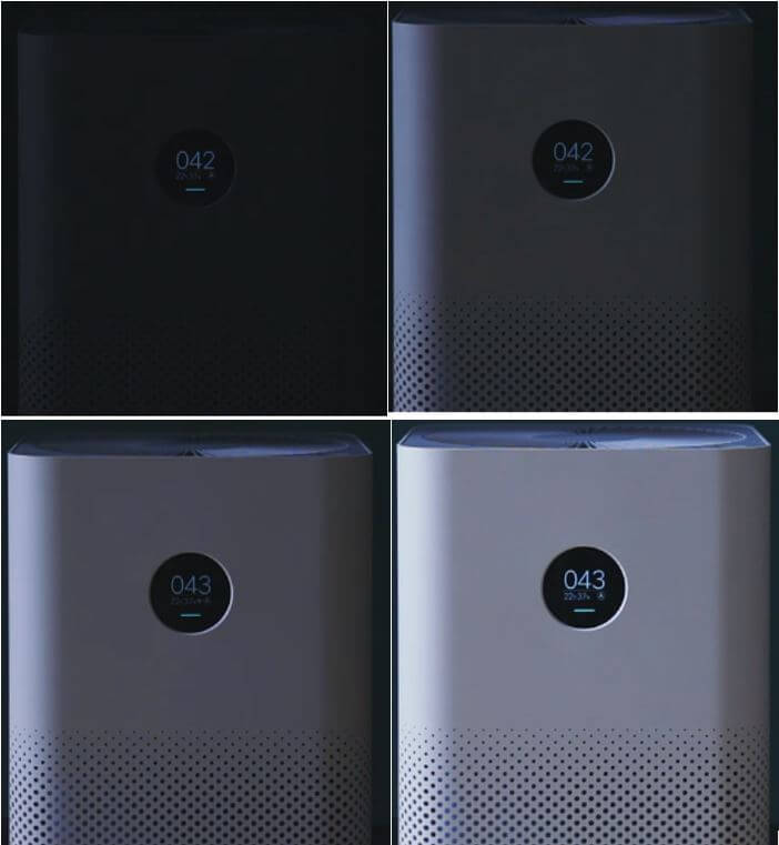 MI Air Purifier 2S Automatic Display Adjustment